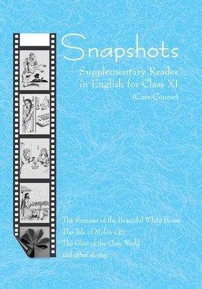 snapshots supplementary english core class  books