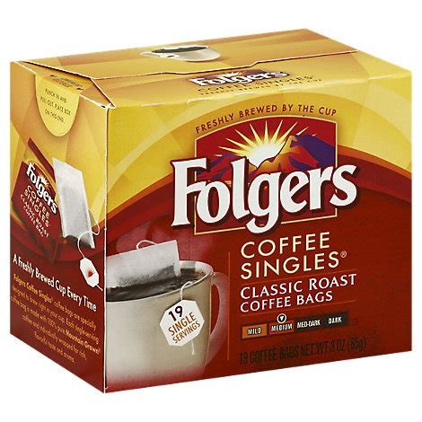 Herman discovered these at the grocery store. Folgers Coffee Singles Medium - Online Groceries   Safeway