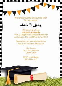 Graduation Party Invitation ← Wedding Invitation Templates ...