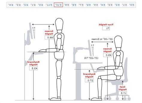 what is desk height standard desk chair height the best option what is