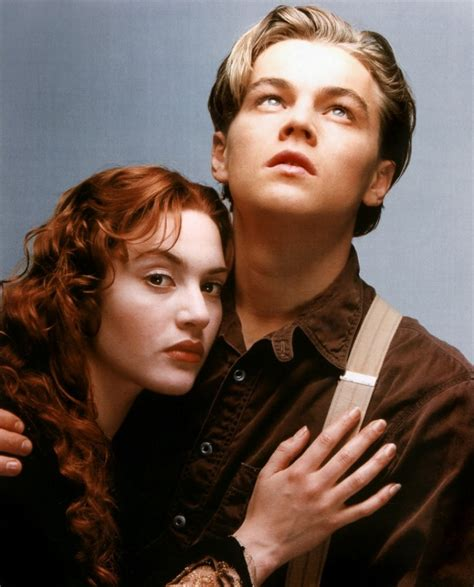 Glamour Leonardo Dicaprio And Kate Winslet In Titanic