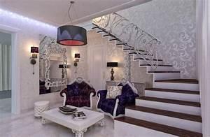 deco entree maison cage d39escalier et couloir en 32 idees With couleur pour une cage d escalier 9 peindre une cage descalier carnet de couleurs