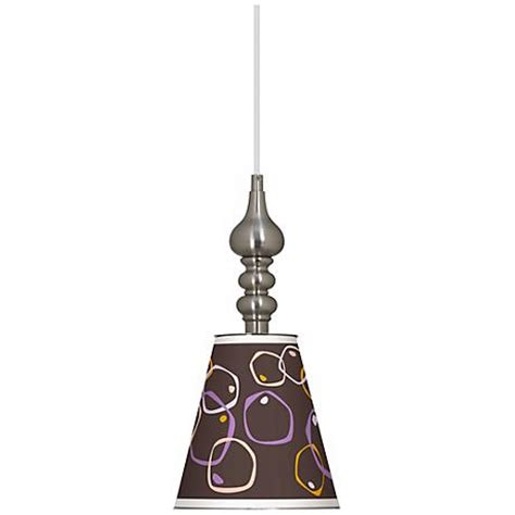 ls plus drum chandelier linen drum 16 quot wide brushed steel shaded pendant 5t574