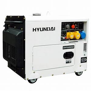 Hyundai Dhy6000se 6 5 Kva Diesel Generator