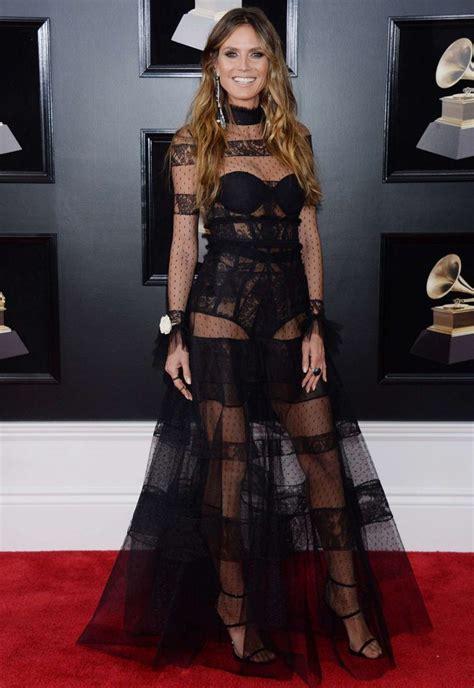 Heidi Klum Grammy Awards Gotceleb