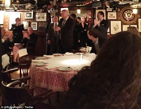 donald trump fan club tiffany and lara trump attend dinner with donald at 21