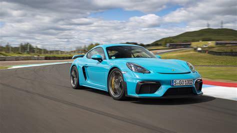 porsche  cayman gt track drive review autoblog