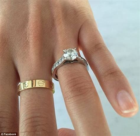 man sells 33 000 cartier engagement ring after catching his fianc 233 e daily mail online