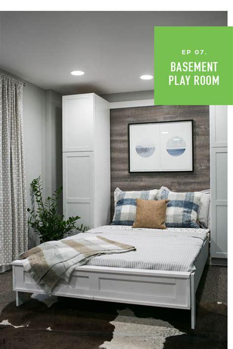 weekender  episode  murphy bed basement makeover