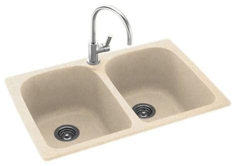solid surface kitchen sinks swan swan 33x22x10 solid surface kitchen sink 1 hole