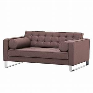 Sofa Grau Günstig : sofa chelsea 2 sitzer webstoff kufen stoff milan grau braun g nstig online kaufen ~ Watch28wear.com Haus und Dekorationen