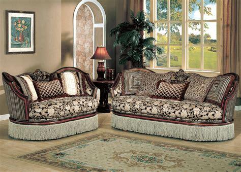 Sofa Set Fabric by Traditional Fabric Sofa Set Y90 Traditional Sofas