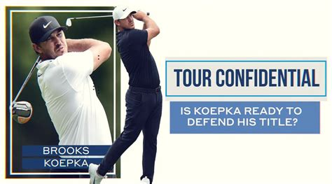 Tour Confidential: Is Brooks Koepka ready to defend his ...