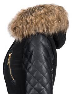 designer wintermantel damen navahoo damen winterjacke wintermantel jacke mantel parka kunst lederärmel ebay