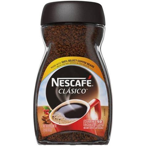 How instant coffee is made. Nescafé Classico Dark Roast Instant Coffee - 3.5oz : Target