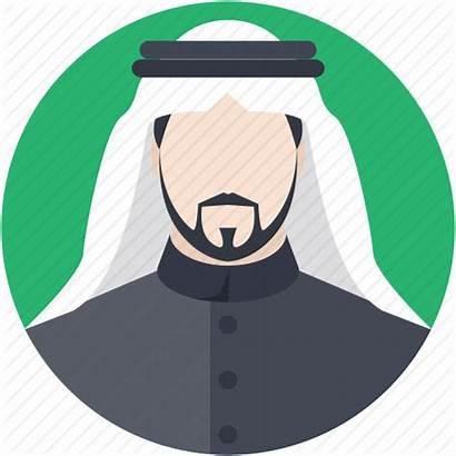 Icon Muslim Arabic Icons Arab Arabian Kandura