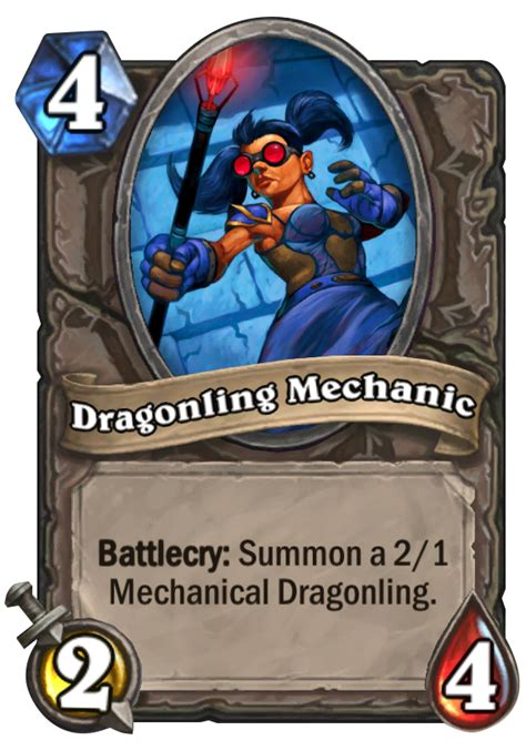 dragonling mechanic hearthstone card