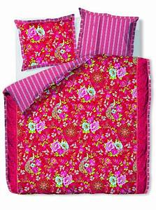 Pip Studio Bettwäsche : pip studio bettw sche flowers in the mix red perkal rot pink blumen baumwolle ebay ~ One.caynefoto.club Haus und Dekorationen