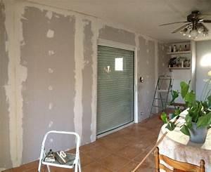 Porte Coulissante Dans Le Mur : baie coulissante galandage une baie vitr e qui entre ~ Dailycaller-alerts.com Idées de Décoration