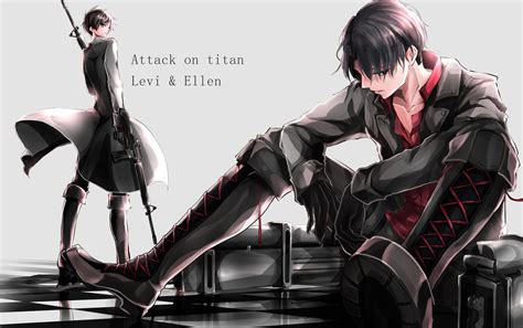 We hope you enjoy our growing collection of hd images you can use wallpapers downloaded from hdwallpaper.wikin eren and levi attack on titan for your personal use only. Attack on Titan Levi Cartoon Character 5K Wallpaper   HD Wallpapers