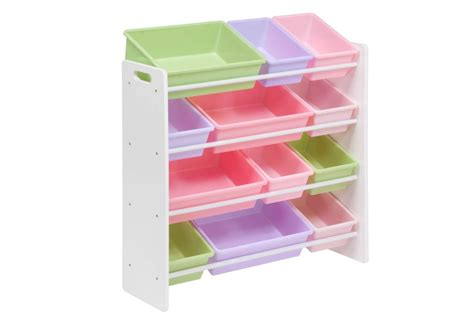 Interesting Kids Room With White Kids Toy Organizer And
