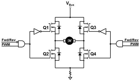 h bridge circuit diagram auto electrical wiring diagram