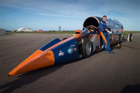 World's Fastest Car Looking To Break Land-Speed Record