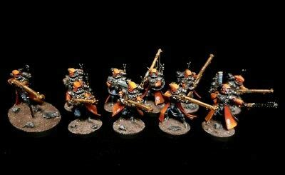 PRO-PAINTED Adeptus Mechanicus Skitarii Rangers Kill Team ...