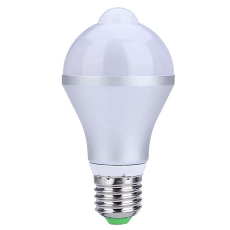lightme e27 7w led bulb induction l infrared