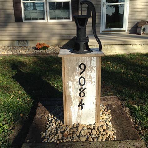 barnwood  pump cover  barnwood shack pinterest