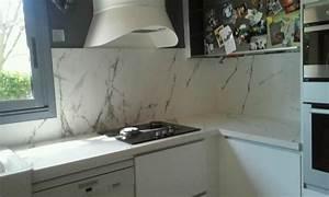 Plan De Travail Dekton : plan de travail granit quartz silestone dekton ~ Melissatoandfro.com Idées de Décoration
