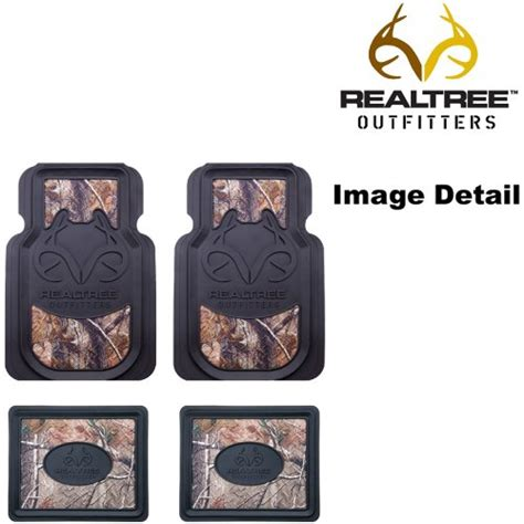 Custom Realtree Floor Mats by Realtree Outfitters Camo Car Truck Suv Front Rear Seat