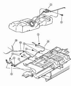 1999 Dodge Grand Caravan Canister  Vapor  Evaporator