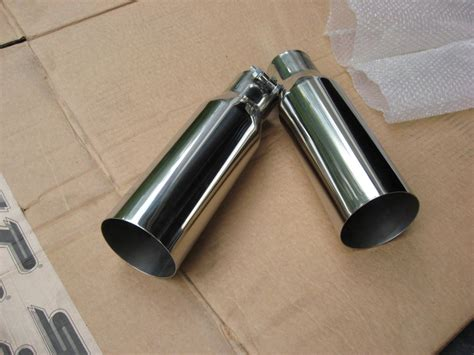 pipe ls for sale hooker 3 5 inch chrome exhaust tips and y pipe ls1tech
