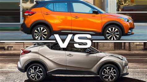 nissan kicks 2017 red 2018 nissan kicks vs 2017 toyota c hr youtube