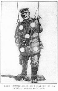 Bayonet Training Dummy From Elements Of Trench Warfare  1917