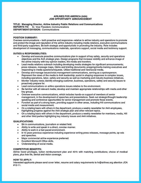 Resume For Airline by Successful Low Time Airline Pilot Resume