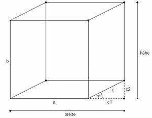 Quader Höhe Berechnen : mp forum quader zeichnen matroids matheplanet ~ Themetempest.com Abrechnung