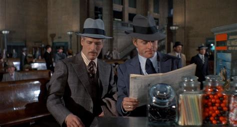 the subtle of brutality paul newman s brown glen plaid suit in the sting bamf style