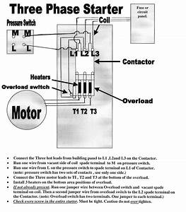 3 Phase Magnetic Motor Starter Wiring Diagram