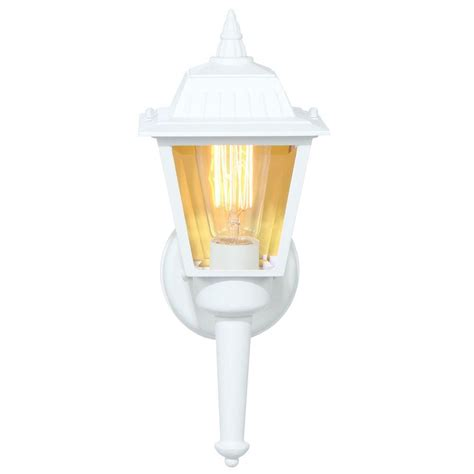 progress lighting white outdoor wall lantern p5737 30