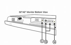 Schematic Diagram Hitachi Vm129 Monitor