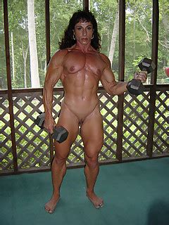 Naked Muscle Girls Free Photos