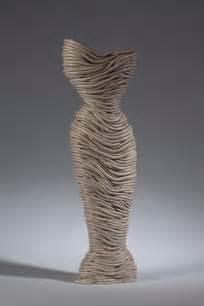 Ceramic Coil Sculpture