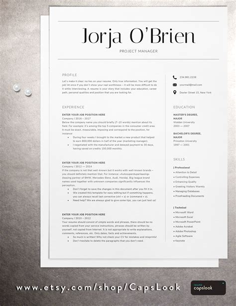 Cover Letter Tips And Tricks by Best Resume Templates For Any Position Three Page