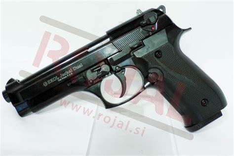 Blank Pistols> Blank Pistols > Jackal Dual 9mm Black