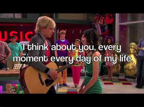 Austin & Ally - I Think About You (Lyrics) FULL SONG - YouTube