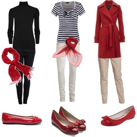 17 Best images about Outfits - Red Flats on Pinterest | Stripes This weekend and Chic outfits
