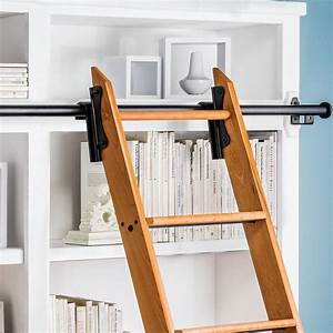 How to Build Own Rolling Library Ladder - http://color