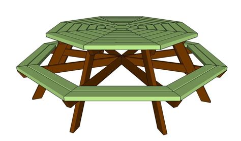 kitchen picnic table plans how to build an octagon picnic table picnic table plans